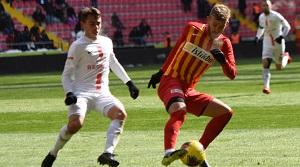 HK Kayserispor: 2 - Antalyaspor: 2