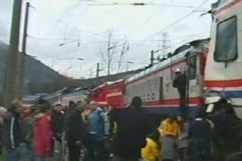 SON DAKİKA! Bilecikte iki tren kafa kafaya çarpıştı