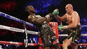 Dünya ağır siklet dünya şampiyonu Tyson Fury