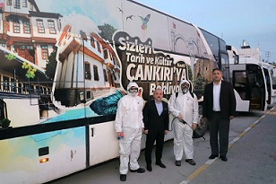 Çankırı Belediyesi Coronavirüse karşı önlemleri yoğunlaştırdı