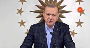 Erdoğan: 20 yaş altı bu geceden itibaren sokağa çıkamayacaktır