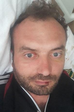 Çankırı'da kameralara yansıyan feci motosiklet kazası!