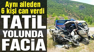Balıkesir'de feci kaza... Aynı aileden 6 kişi can verdi