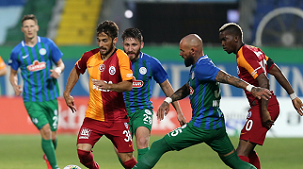 Çaykur Rizespor: 2 - Galatasaray: 0