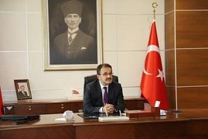 Çankırı'nın yeni valisi Abdullah Ayaz makamına oturdu