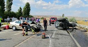 Çankırı-Ankara karayolunda kaza! 4 Yaralı