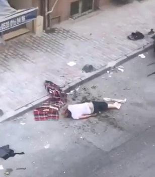 Sosyal medyanın konuştuğu balkondan düşme kazasının sonunda ne oldu