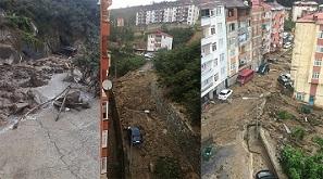 Giresun'da sel felaketi! Bakan Soylu son durumu açıkladı