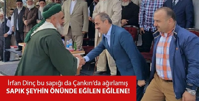 Sapık şeyh Fatih Nurullah ve AKP'li İrfan Dinç yan yana!
