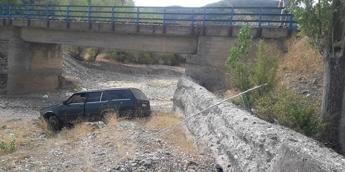 Yine Yapraklı / Bademçay köprüsü ve yine kaza!