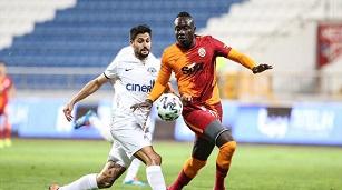 Kasımpaşa: 1 - Galatasaray: 0