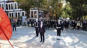 Çankırı'da 29 Ekim Cumhuriyet Bayramı kutlamaları başladı