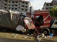 Çörekçiler'de kaza:  2 kişi hayatını kaybetti