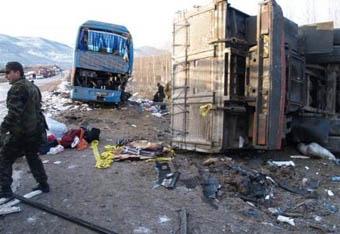 Tosyada feci kaza: 11 ölü!