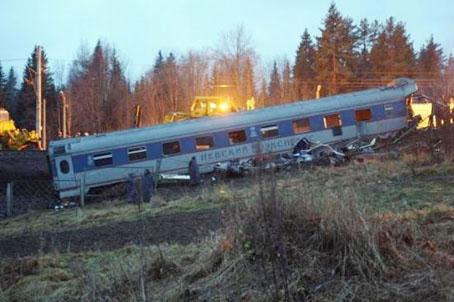 Rusyada tren faciası