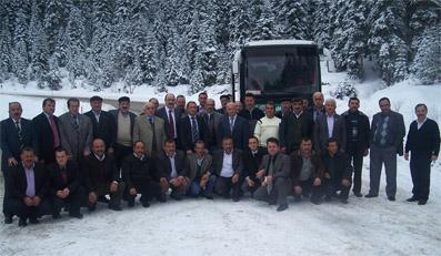TR-82 kardeşliği sonucu Ankara yolu göründü!