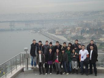 Çankırılı gençler İstanbul gezisinden döndüler
