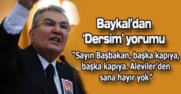 Baykaldan Dersim yorumu!