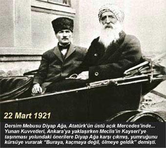 Atatürkün hayatını Dersimli kurtardı
