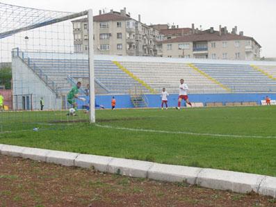 Çankırı Belediyespor hem taraftarını hem de kendisini rahatlattı; 3-1