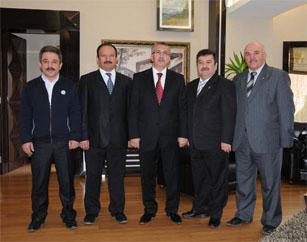 Başkan Selçuk Çetine hemşeri ziyaretleri