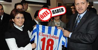 Başbakan Erdoğan da Çankırı Belediyespor taraftarı!
