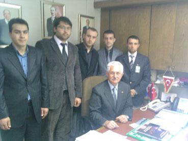 Ülkü Ocaklarından Ahmet Bukana ziyaret