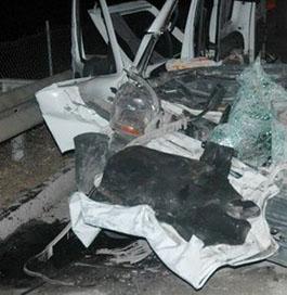 Çocuğun kullandığı araç kamyona çarptı: 5 ölü