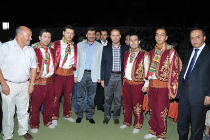 Bilal Erdoğan, Başkentte Çankırı yaranında