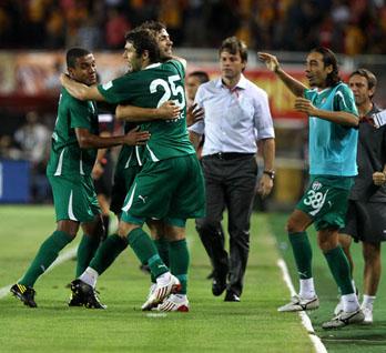 Bursaspor, Ali Samiyende gülen taraf oldu: 2-0