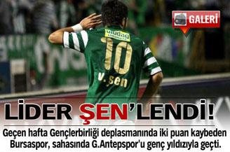 Bursaspor şampiyonluğa tam gaz gidiyor: 2-0