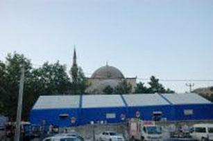 İftar çadırı Büyük Cami önünde