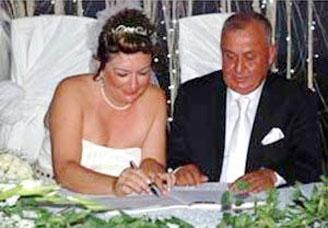 Mehmet Kiraz evlendi