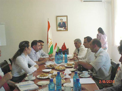 Karatekin Üniversitesi Tacikistana açılıyor