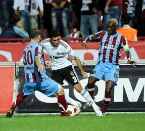 Trabzonspor, Beşiktaşı tek golle devirdi