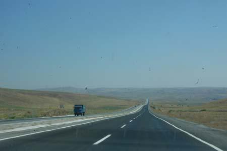 Ankara - Çankırı karayolunda çile bitiyor
