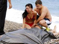 Tatildeki Rus, denizde boğuldu!