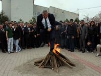 Nevruz ateşi Çankırıda coşkuyla kutlandı