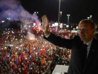 Erdoğana dev karşılama - İZLE