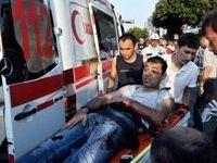 Alanyada silahlı saldırı: 1 yaralı