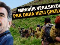 Öcalan PKKlıların hızlı çekilmesi için minibüs istedi