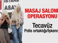 İstanbulda masaj salonu operasyonu