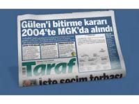 Taraf gazetesine 9 günlük ilan cezası
