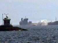 Pendik açıklarında gemide patlama