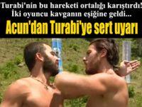 Survivor'da Turabi ile Gökhan kavganın eşiğine geldi