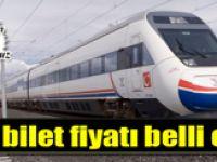 Ankara-İstanbul YHT'de bilet fiyatı belli oldu