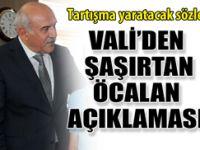 Şırnak Valisi'nden tepki çekecek Öcalan açıklaması!