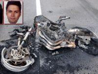 Genç çift motosiklet kazasında öldü