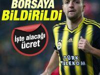 Fenerbahçe Caner Erkin'i borsaya bildirdi