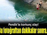 Pendik'te bir çocuk boğuldu